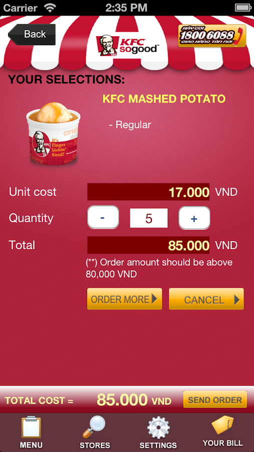 kfc strategy in viet nam Research on factors affecting customer satisfaction towards  research on factors affecting customer satisfaction  existing in viet nam included kfc,.
