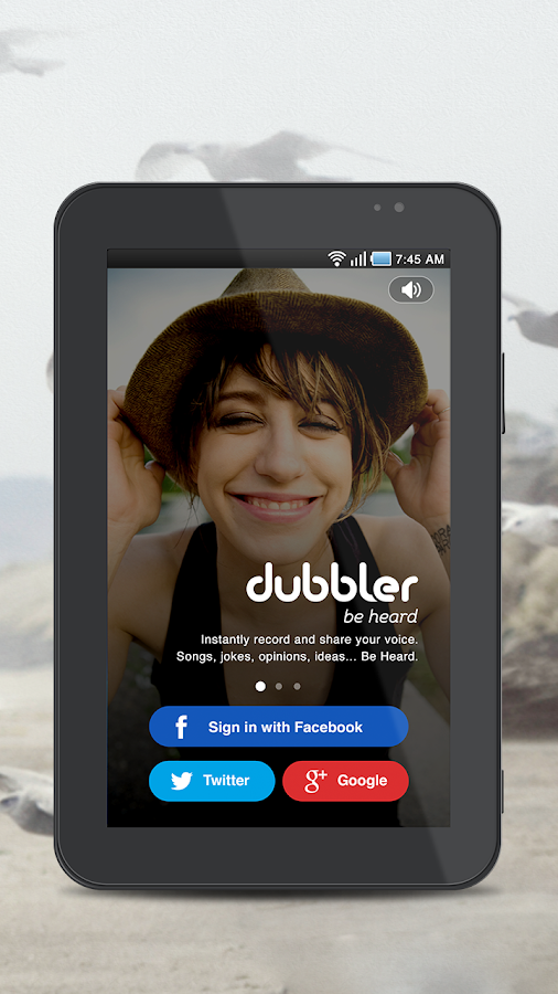 Dubbler - Share Your Voice - screenshot