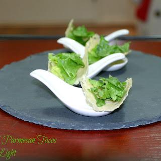 Caesar Salad Parmesan Tacos