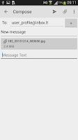 Screenshot of Inbox.lt