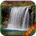 Waterfall video live wallpaper icon