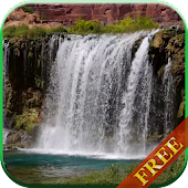 Waterfall video live wallpaper