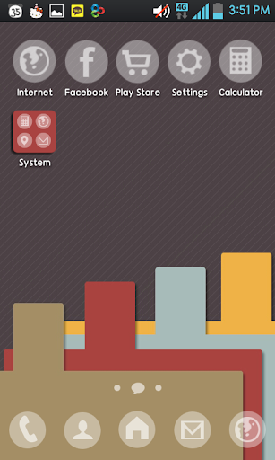 Note Go Launcher theme