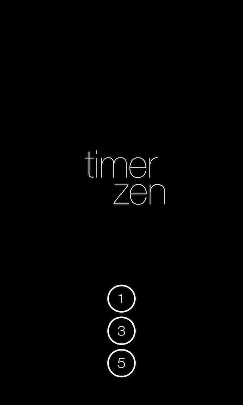 timer zen- screenshot