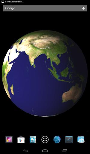 Trái đất 3D - Hinh nen dong