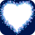 Blue Heart Frames icon