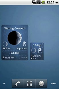 Moon Widget Deluxe - screenshot thumbnail