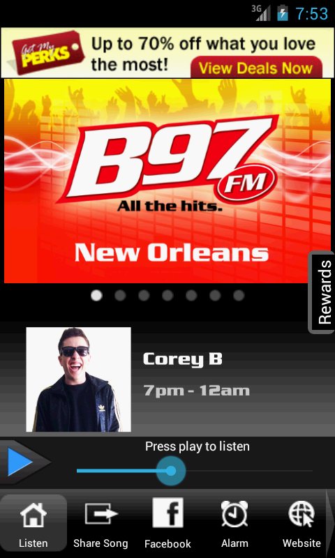 B97 | All the Hits from New Or- screenshot