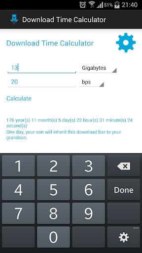 免費工具App|下載時間計算器|阿達玩APP