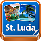St. Lucia Offline Travel Guide icon