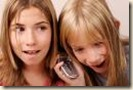kids on cell phone