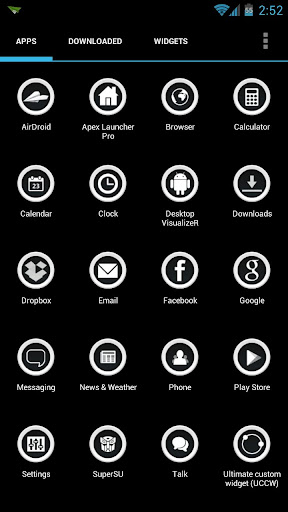 Buttonized Apex ADW Icon Pack