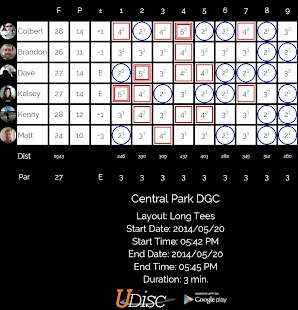 UDisc Disc Golf App - screenshot thumbnail