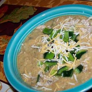 Restaurant-Style Cheesy Poblano Pepper Soup.