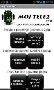 Moj Tele2 PRO- screenshot thumbnail
