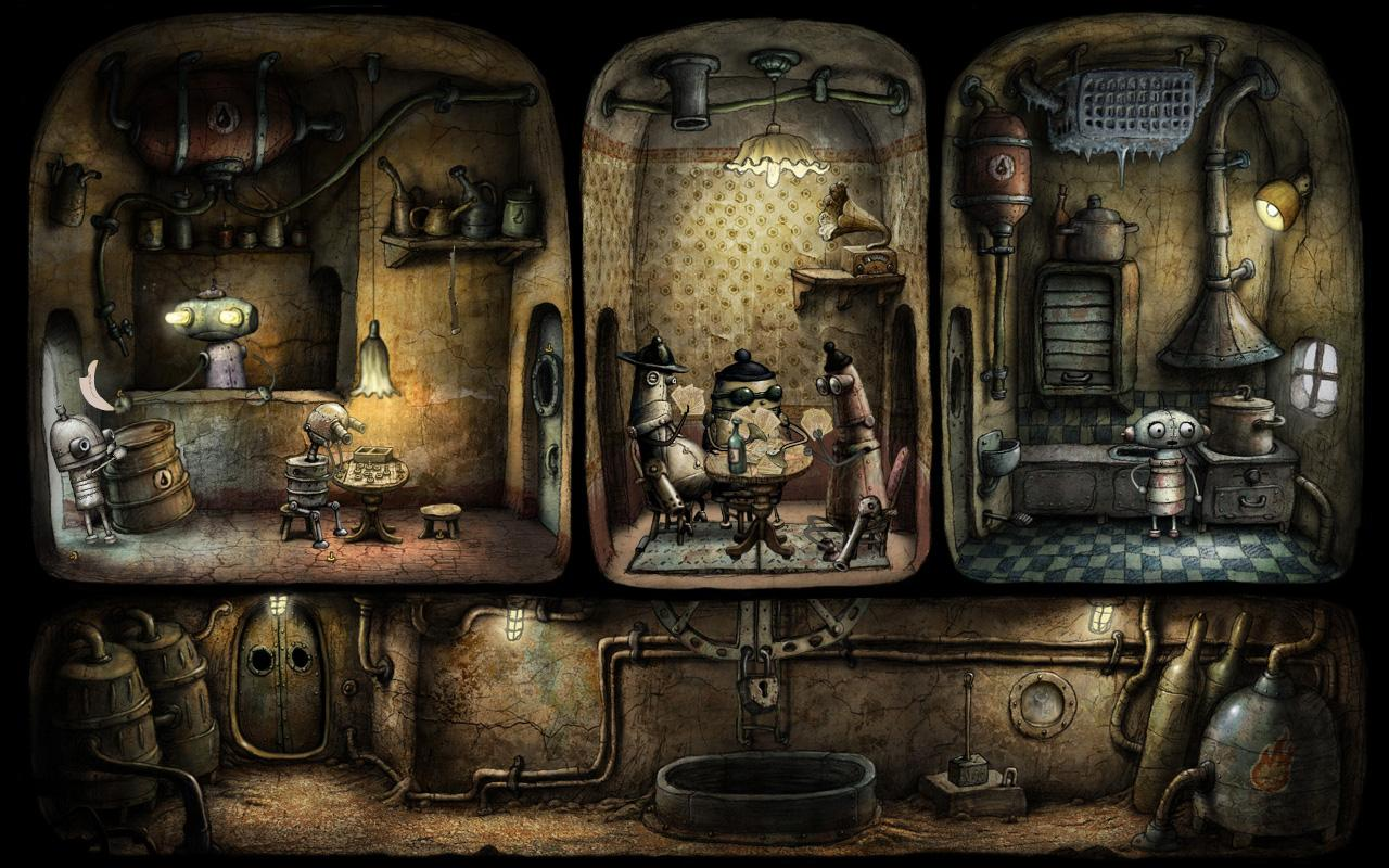 Machinarium - screenshot
