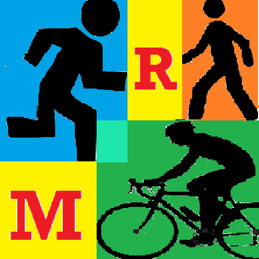 RouteManager (rutas) 運動 App LOGO-硬是要APP