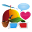 Aviary Stickers: Free Pack for Lollipop - Android 5.0