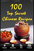 Screenshot of 100 Top Secret Chinese Recipes