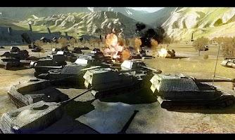 Screenshot of Battlefield Tank