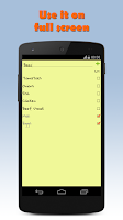 Screenshot of Note Droid