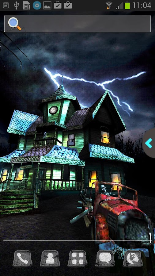 UR 3D Haunted House Live Theme - screenshot