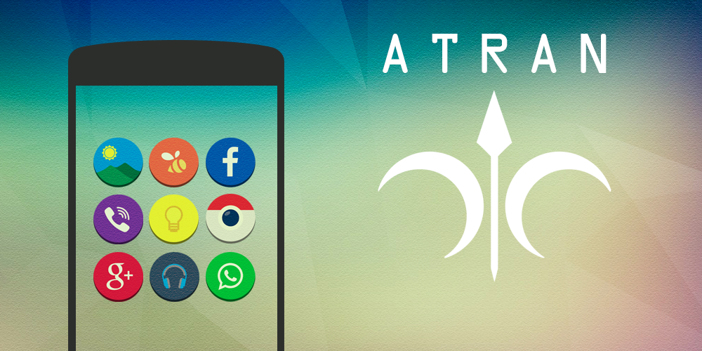 Atran - Icon Pack - screenshot