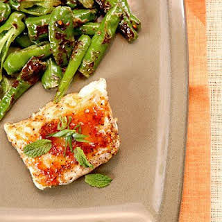 Ginger-Glazed Cod.