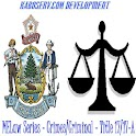 MELaw Criminal Title 17/17-A logo