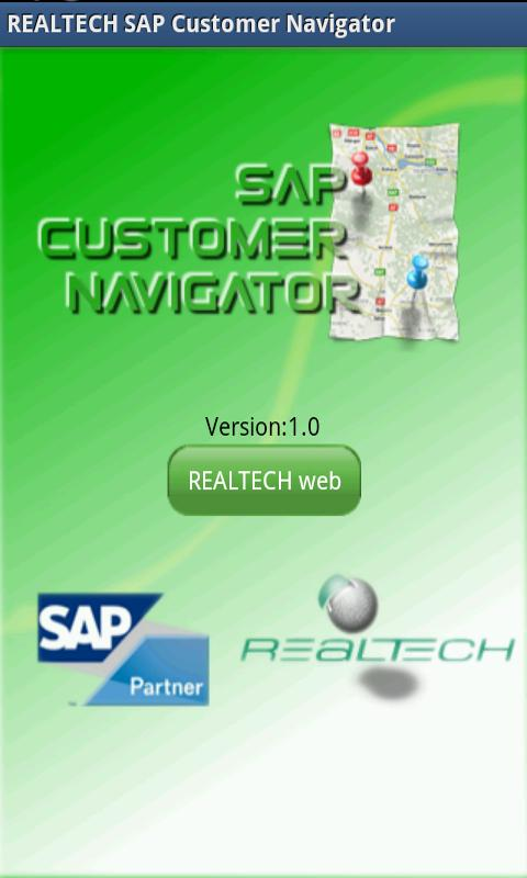 REALTECH SAP CustomerNavigator - screenshot