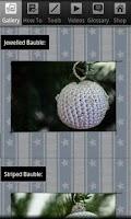 Screenshot of Christmas Crochet Bauble