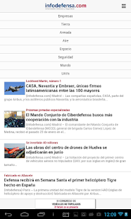 Infodefensa- screenshot thumbnail