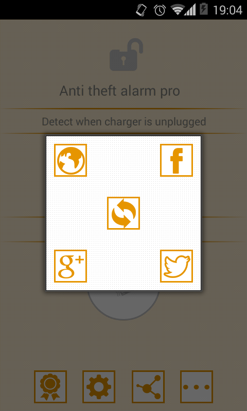 Anti theft alarm PRO - screenshot