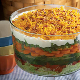 7th-Heaven Layered Salad.