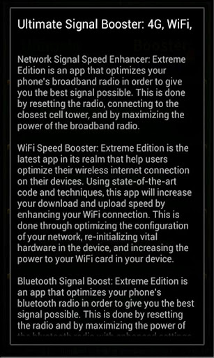 Network, WiFi, BT Signal & Speed Boost APK
