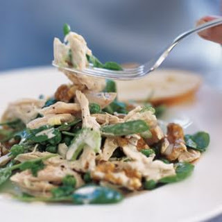 Shredded Chicken Salad with Sherry Dressing