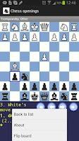 Screenshot of Chess Openings