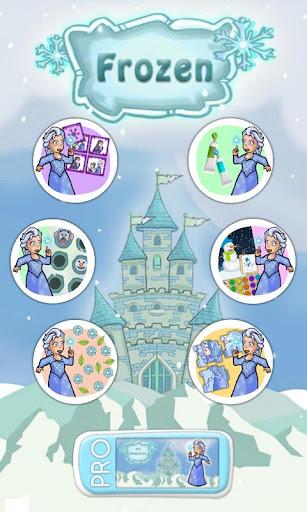 Princesses games of frozen