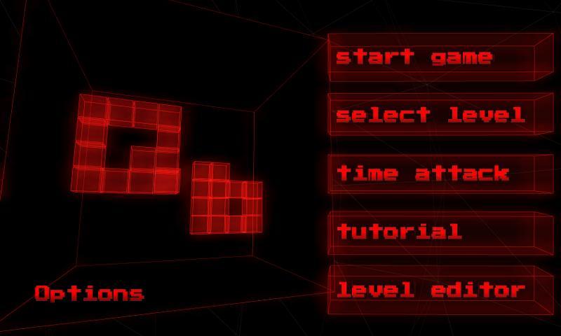 qb - 3d puzzle game- screenshot