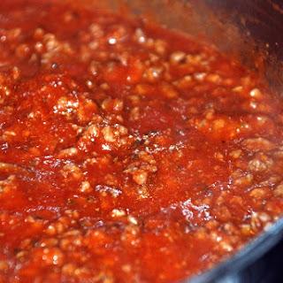 Easy Spaghetti Sauce.