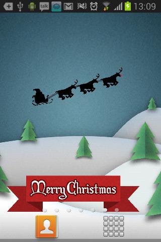 アニメーション クリスマスの壁紙の hd