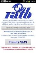 Screenshot of RATB SMS