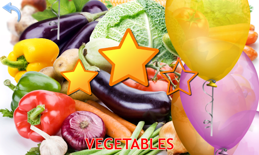 Fruits and Vegetables for Kids- gambar mini tangkapan layar