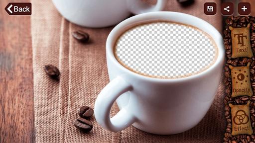 コーヒーマグフォトフレーム