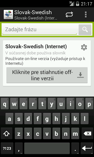 Slovak-Swedish Dictionary