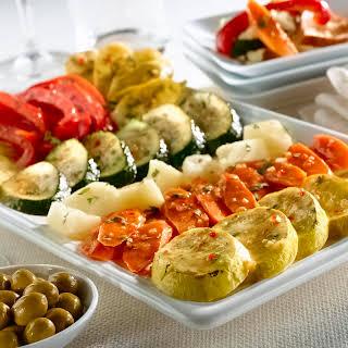 Roasted Vegetable Tapas.