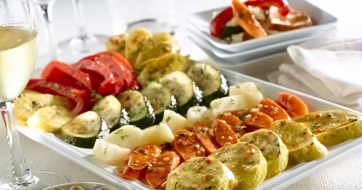 10 Best Roasted Vegetable Appetizers Recipes