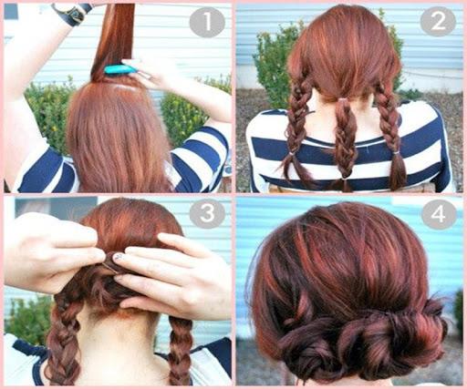 DIY Easy Hairstyles Tutorials
