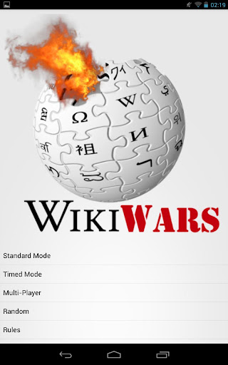Wiki Wars