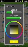 Screenshot of MapNotes